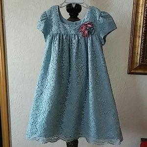 LAURA ASHLEY Laced girls dress